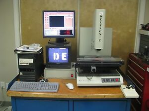 Deltronic Dvc 120 Video vision Measuring Machine 00005 Mpc 6 Software