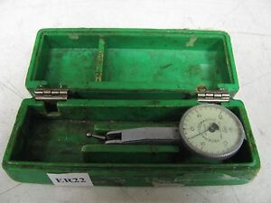 Federal Testmaster 001 Dial Test Indicator W Hard Plastic Case Used Er22