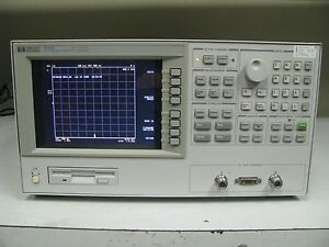Keysight Agilent Hp 4291b 1 8 Ghz Rf Impedance Material Analyzer W Opt 1
