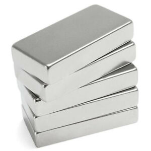 N52 1 10pcs Neodymium Block Magnet 50x25x10mm Super Strong Rare Earth Magnets