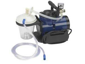 Drive Medical 18600 Suction Pump Portable Home Heavy Duty Aspirator Machine nib