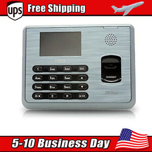 Zk Software Ua400 Tx628 Multi biometric Time Clock Attendance Finger Printer Hot