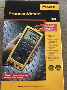 Fluke 789 Process Meter With Test Leads Brand New