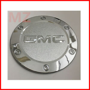 For 07 13 Gmc Yukon Avalanche Chrome Fuel Gas Door Cover