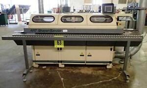 Voorwood A117b Shaper Sander W Optisand System Control woodworking Machinery
