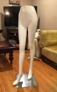Fiberglass Female Mannequin Legs With Nice Hips Display Dress Form 47