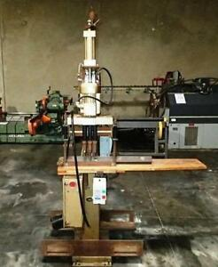 Doucet Airbor T 1000 Pneumatic Vertical Boring Machine woodworking Machinery