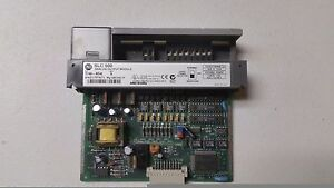 Used Allen Bradley Slc500 1746 no4i Ser A Analog Output Card from Working Unit