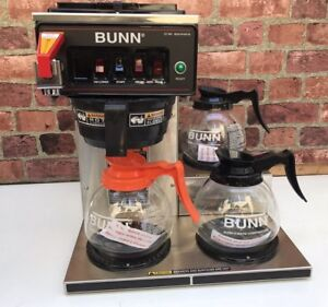 Bunn Automatic Coffee Brewer 12 Cup 3 Lower Warmers Cwtf 15 3l