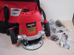 Toughtest Qd6802r Electric Corded Plunge Router 2 Hp 1 2
