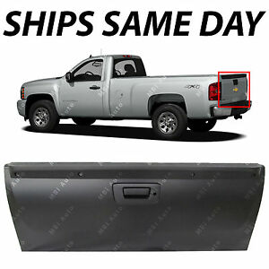 New Primered Steel Tailgate Assembly For 2007 2014 Silverado Sierra W Lock