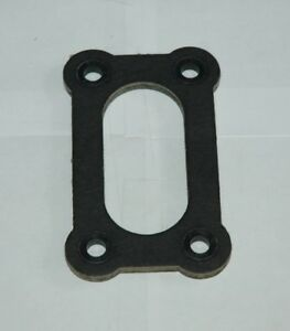 1 4 Thick 2 Barrel Flange Gasket Reinforced Corners Holley Or 3 3 4 X 1 13 16