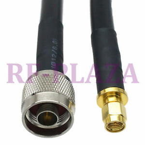 Cable 8m N Male Plug To Sma Male Plug Ksr400 rg8 Pigtail Jumper Cable