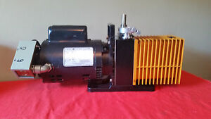 Used Good Condition Alcatel 1012a Single Stage 3 4hp Vacuum Pump