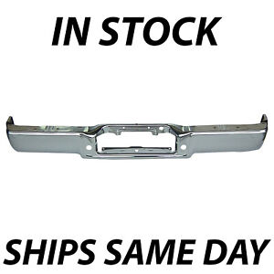 New Chrome Steel Rear Bumper Face Bar For 2006 2008 Ford F150 Lincoln Mark Lt