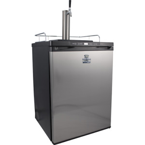 Keg King Series 4 Single Tap Stainless Steel Kegerator Digital Temp Controlled