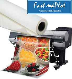 Shipped Free Poly Vinyl Banner Roll Polypropylene 42 X100ft inkjet Printing