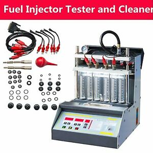 Car Motorcycle Injector Ultrasonic Cleaner Injection Tester
