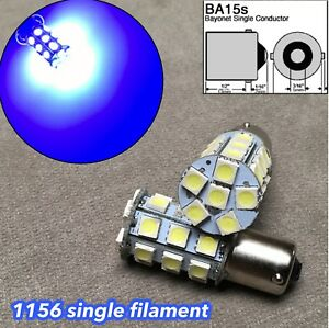 Blue Led Front Signal Light S25 1156 Ba15s 7506 3497 1141 27 For Toyota Nissan