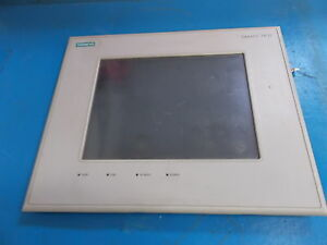 Siemens Touch Panel Simatic Tp37 Screen Only