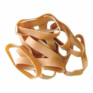 Rubber Bands 1 2 x3 1 2 brown pk10lbs Partners Brand Ban412