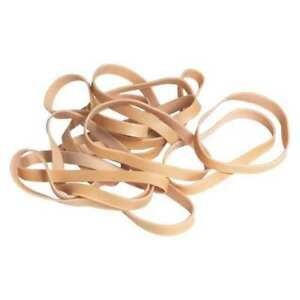 Partners Brand Ban417 Rubber Bands 1 4 x3 1 2 brown pk10lbs