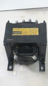 General Signal Hevi duty Control Transformer T2000 2 Kva 480 Or 240 V To 120 Vac