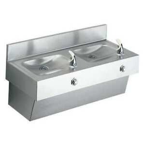 Elkay Edf210c Drinking Fountain 14 Depth 31 W G6138128