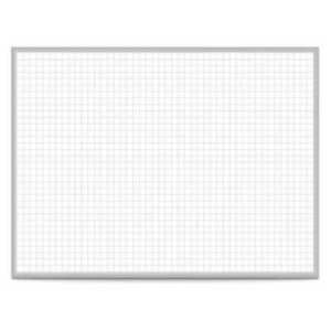 Ghent Grpm321g 23 24 x36 Magnetic Steel Dry Erase Board