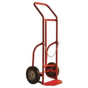 Milwaukee Hand Trucks Dc40763 Delivery Cylinder Truck 10 solid Tire