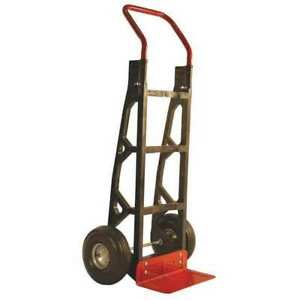 Poly Hand Truck with 10 tires Milwaukee Hand Trucks Dc40610