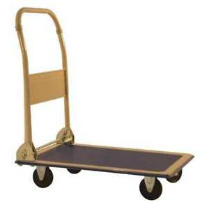 Folding Handle Platform Truck Milwaukee Hand Trucks Dc33881