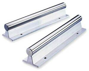 Support Rail aluminum 1 000 In D 24 In Thomson Sr16 pd