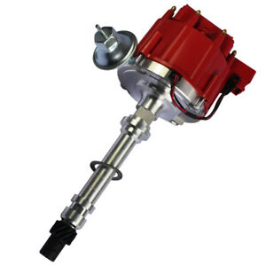Red Cap High Performance Hei Distributor For Chevy Gm Small Block Big Block 65k
