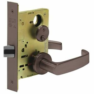 Sargent 8265 Lnl 10b Heavy Duty Mortise Lockset lever privacy