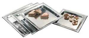 Hammered Tray 16 X 16 In American Metalcraft Hmsq16