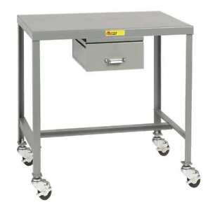 Mobile Work Table 36 L X 24 W X 24 In H