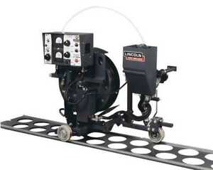 Lincoln Electric K395 1 Self propelled Wire Feeder With Track