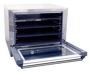 Half Size Pizza Convection Oven Holds 4 Sheet Pans Cadco Ov 023p