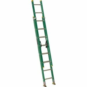 Extension Ladder Fiberglass 16 Ft Ii Louisville Fe0616