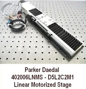Parker Daedal 402006lnms d5l2cm1 Motorized Linear Translation Stage