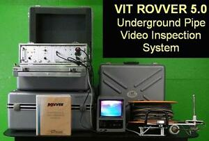 Vit Rovver 5 0 Large Diameter Pipe Pipeline Video Inspection System Ge Everest