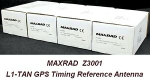 Antenna Micropulse Maxrad Z3001 Antenna Timing Reference Gps L1
