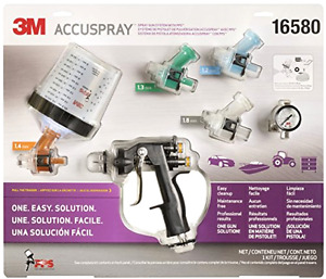3m 16580 Accuspray Spray Gun System With Standard Pps New