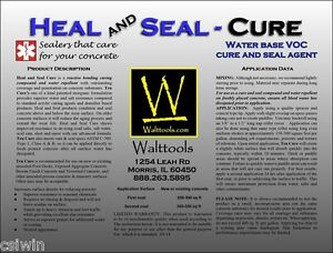 Heal And Seal Cure Concrete Sealer 5 Gl