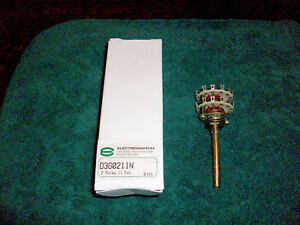 Electroswitch D3g0211n Rotary Switch 2 11pos 500ma 115v With Knob Nib