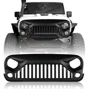 Gladiator Vader Front Grille For Jeep Wrangler Rubicon Sahara Sports 07 18 Jk