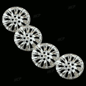 New Wheel Covers Hubcaps Fits 2010 2012 Toyota Camry Style 16 Chrome Set Of 4