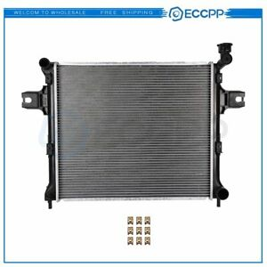Aluminum Radiator For 05 10 Jeep Grand Cherokee 06 10 Commander 3 7l 4 7l 2839