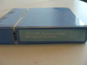 Eip 575 578 Source Locking Microwave Counters Operation Maintenance Manual